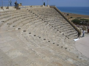 Amphitheater in Zypern